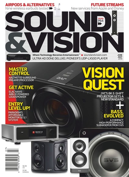Sound & Vision Cover - 6/1/2019