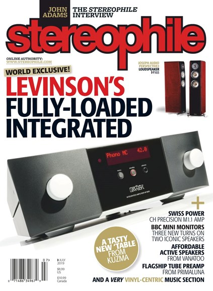 Stereophile Cover - 7/1/2019