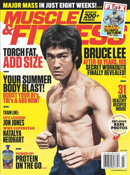 Muscle & Fitness Cover - 7/1/2019