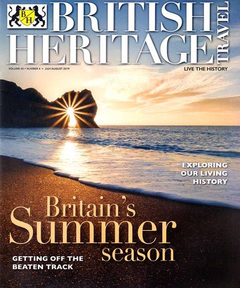 British Heritage Travel Cover - 7/1/2019