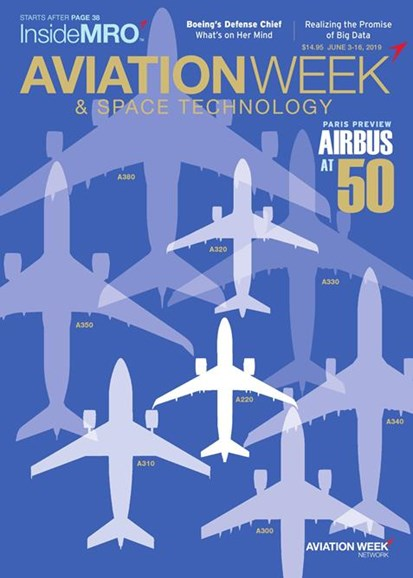 Aviation Week & Space Technology Cover - 6/3/2019