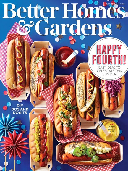 Better Homes & Gardens Cover - 7/1/2019