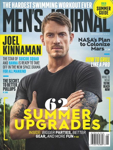 Men's Journal Cover - 7/1/2019