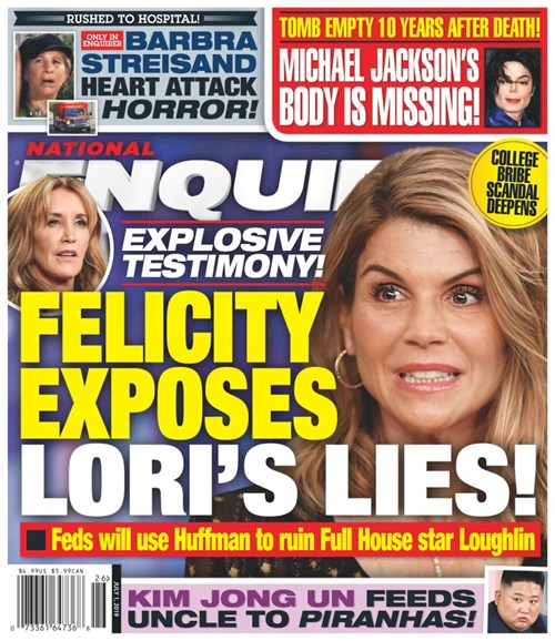 National Enquirer Cover - 7/1/2019