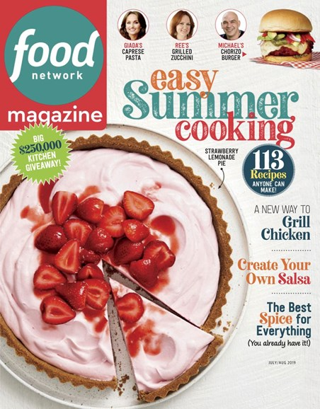 Food Network Cover - 7/1/2019