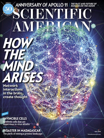 Scientific American Cover - 7/1/2019