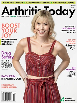 Arthritis Today Magazine | 8/2019 Cover