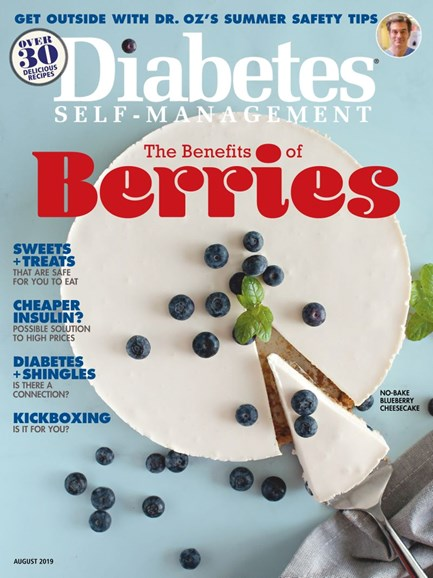 Diabetes Self-Management Cover - 7/1/2019