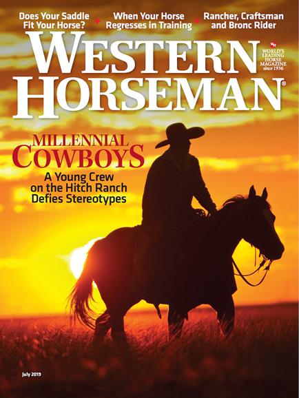 Western Horseman Cover - 7/1/2019