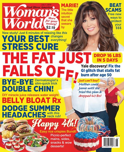 Woman's World Cover - 7/1/2019