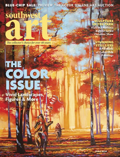 Southwest Art Magazine | 7/2019 Cover