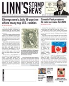 Linn's Stamp News Magazine 7/8/2019
