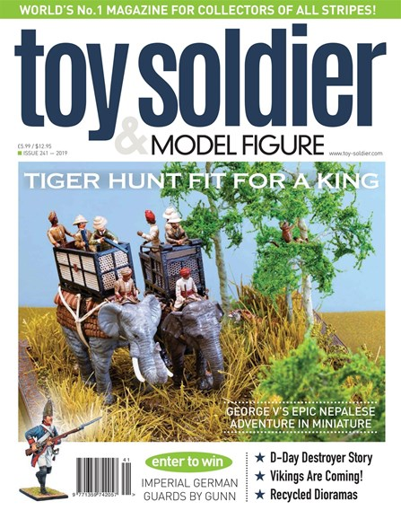 Toy Soldier & Model Figure Cover - 7/1/2019