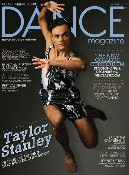 Dance Magazine Cover - 8/1/2019