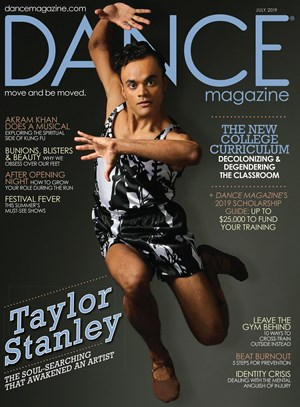 Dance Magazine | 8/2019 Cover