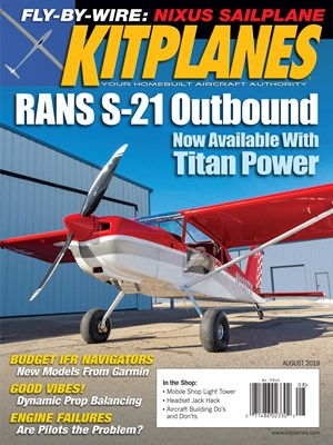 Kit Planes Magazine | 8/2019 Cover