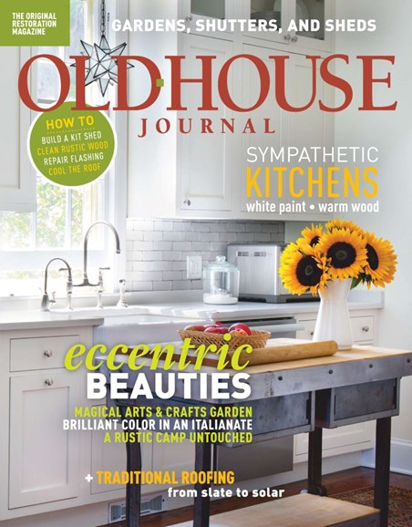 Old House Journal Cover - 7/1/2019
