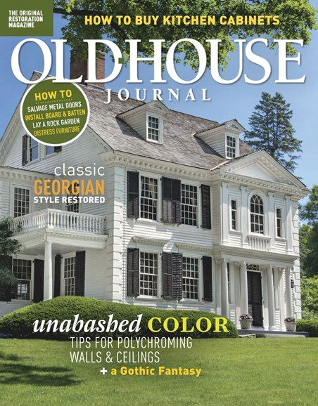 Old House Journal Cover - 6/1/2019