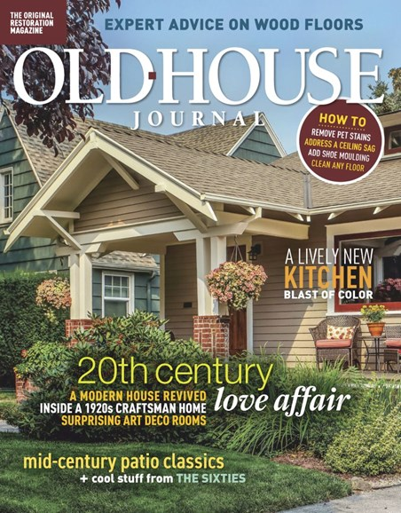 Old House Journal Cover - 5/1/2019
