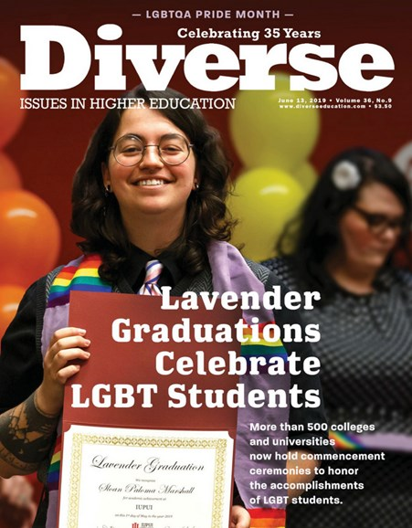 Diverse: Issues In Higher Education Cover - 6/13/2019