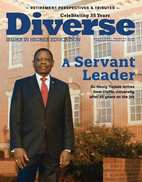 Diverse: Issues In Higher Education Cover - 6/27/2019