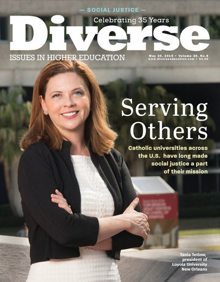 Diverse: Issues In Higher Education Cover - 5/30/2019