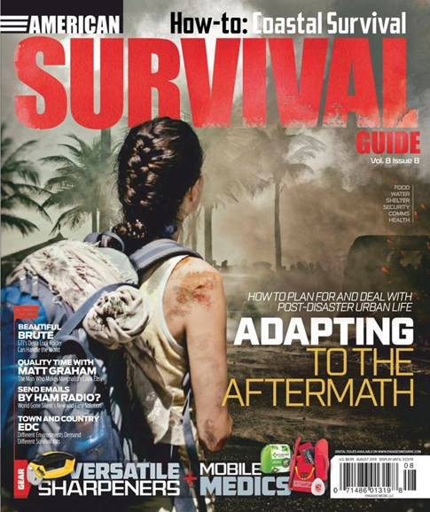 American Survival Guide Cover - 8/1/2019