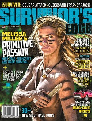 The Survivor's Edge | 7/2019 Cover