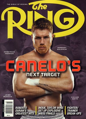 Ring Boxing Magazine | 8/2019 Cover