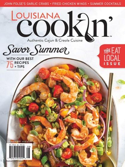Louisiana Cookin' Magazine | 7/2019 Cover