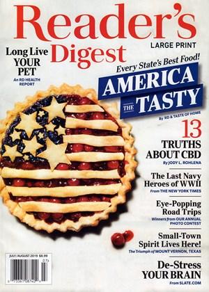 Reader's Digest Large Print | 7/2019 Cover