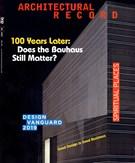 Architectural Record Magazine 6/1/2019