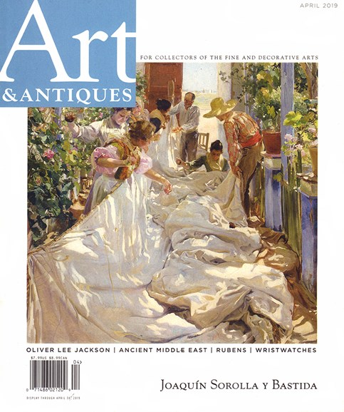 Art & Antiques Cover - 4/1/2019