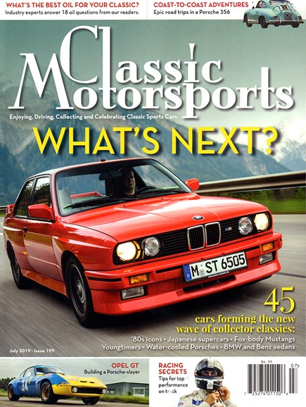 Classic Motorsports Cover - 7/1/2019