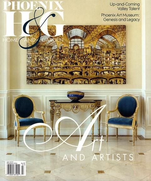 Phoenix Home & Garden Cover - 7/1/2019