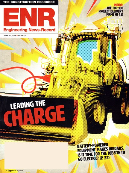 Engineering News Record Cover - 6/10/2019
