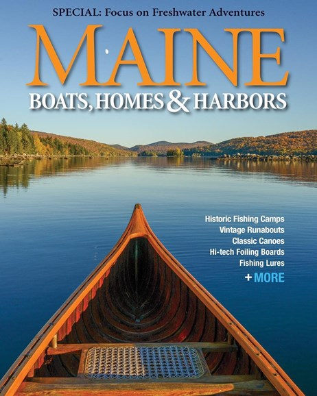 Maine Boats, Homes & Harbors Cover - 5/1/2019