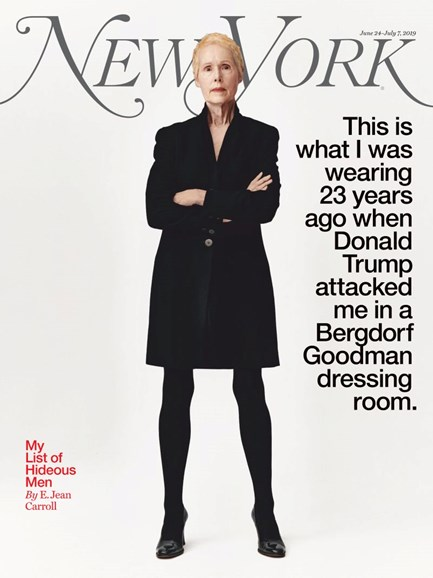 New York Magazine Cover - 6/24/2019