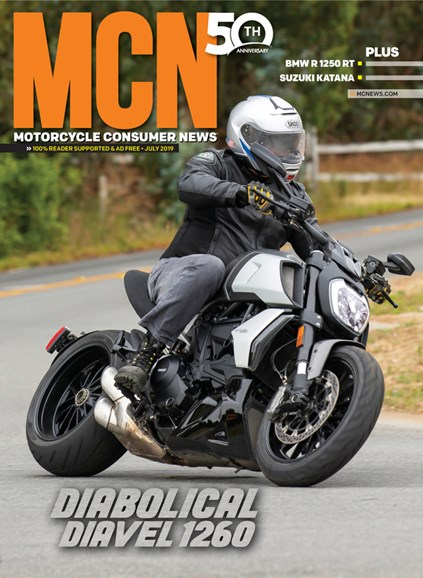 Motorcycle Consumer News Cover - 7/1/2019
