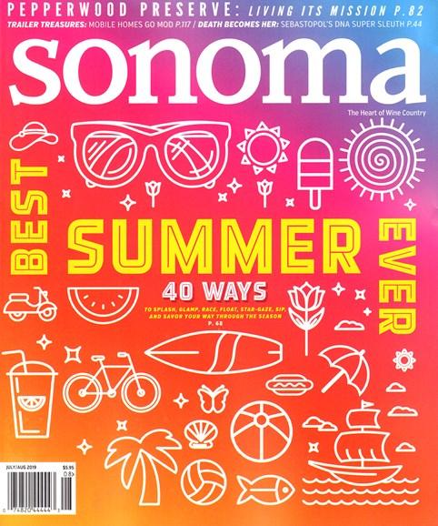 Sonoma Cover - 7/1/2019