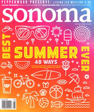 Sonoma Magazine | 7/2019 Cover