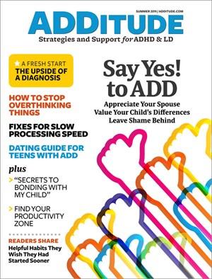 ADDitude Magazine | 6/2019 Cover