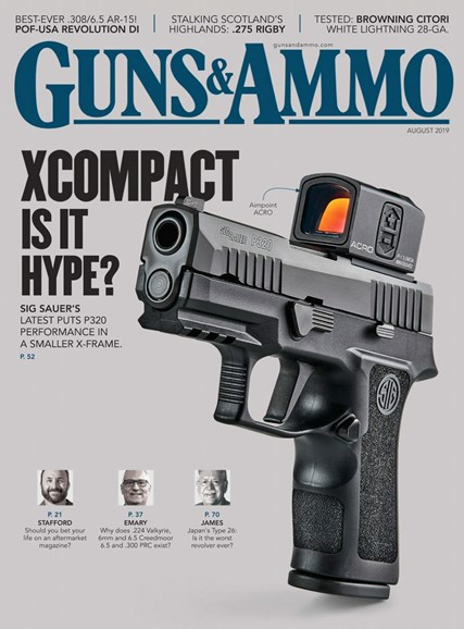 Guns & Ammo Cover - 8/1/2019