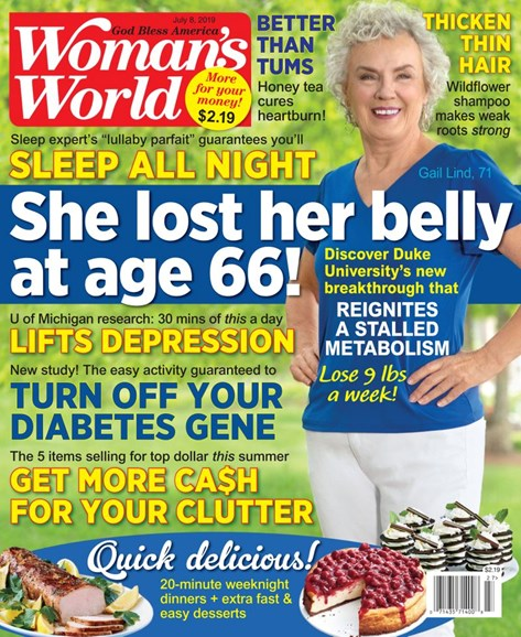 Woman's World Cover - 7/8/2019