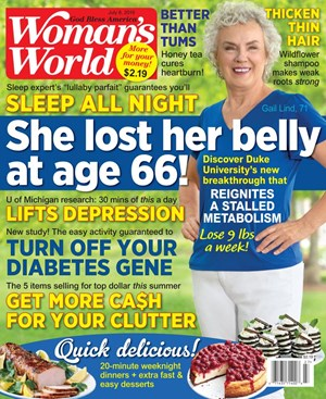 Woman's World Magazine | 7/8/2019 Cover