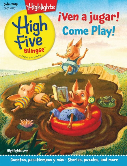 Highlights High Five Bilingue Cover - 7/1/2019
