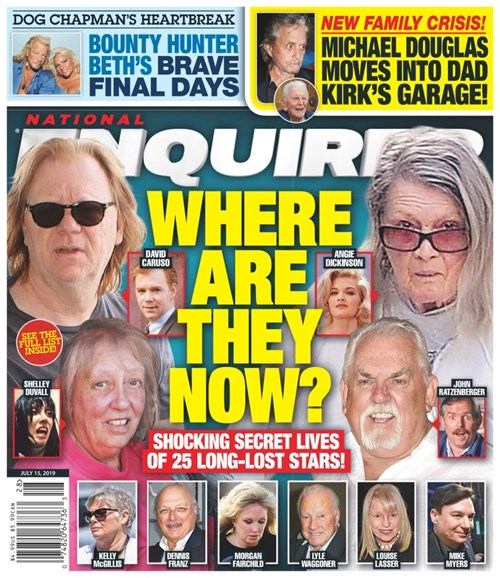 National Enquirer Cover - 7/15/2019
