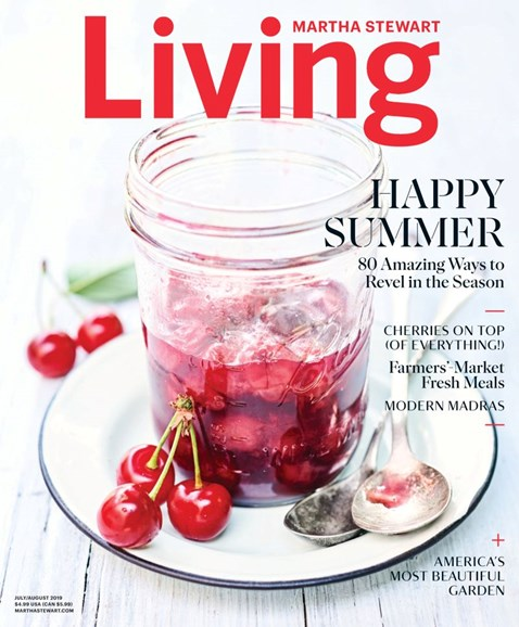 Martha Stewart Living Cover - 7/1/2019