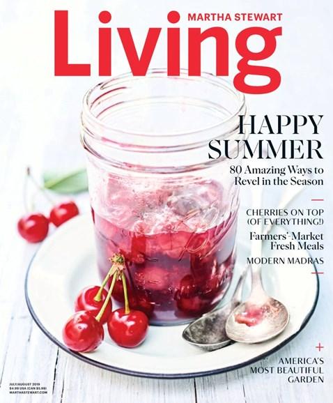 Martha Stewart Living Cover - 7/1/2019
