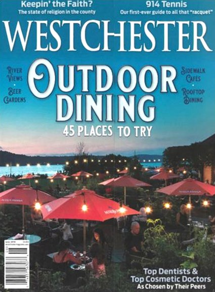 Westchester Magazine Cover - 6/1/2019